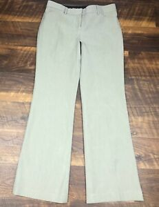 Express-EDITOR-Gray-Pinstriped-Wide-Leg-sz-6-Trousers-Career-Women-039-s-Dress-Pants