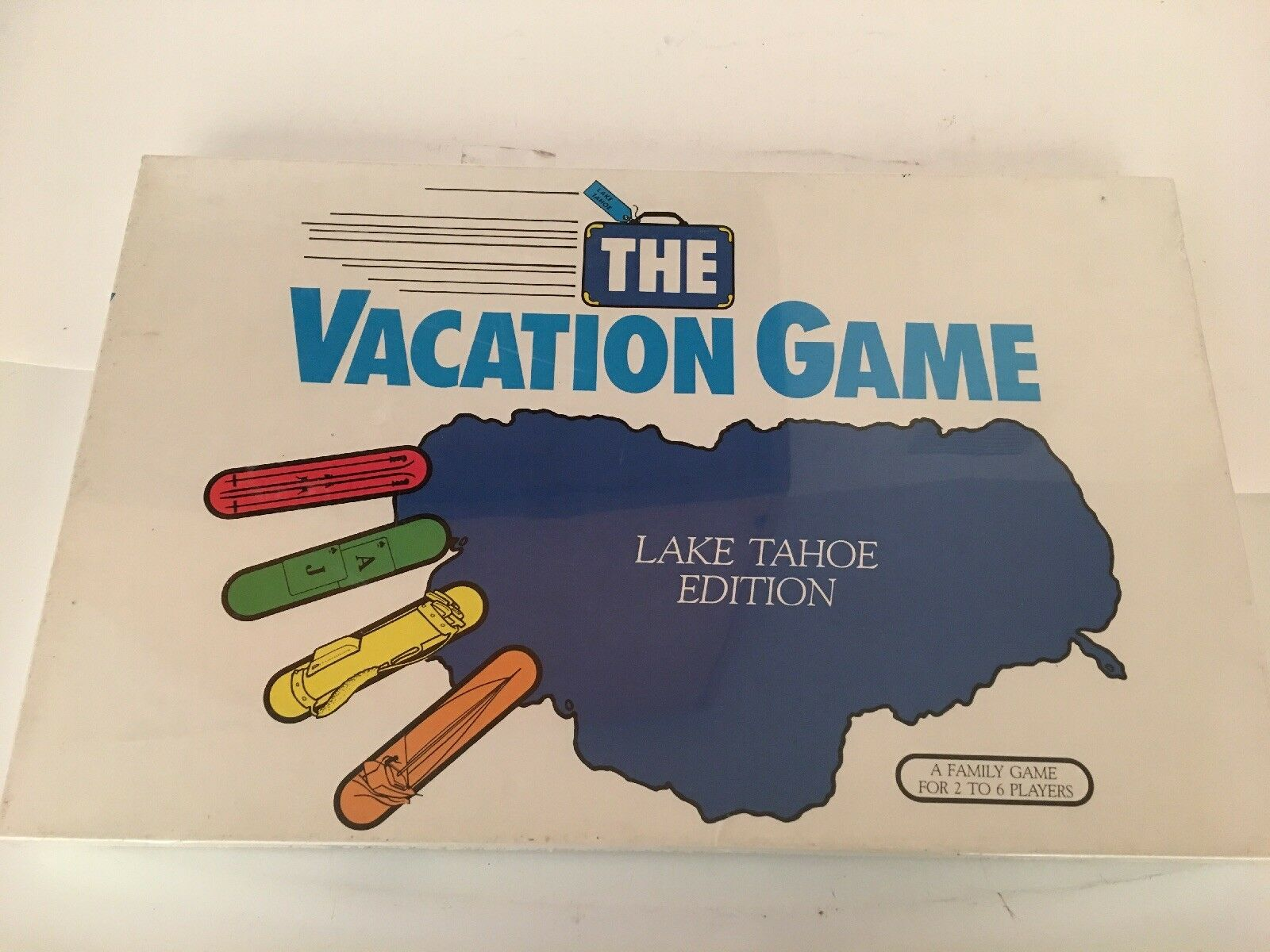 """Nuovo The Vacation Game """"Lake Tahoe Edition"""" - First Edition, 1986"""