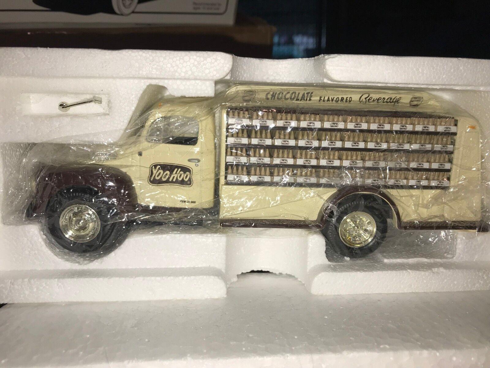 First Gear 1951 Ford F-6 envasador al camión Yoo Hoo bebida de chocolate  raros