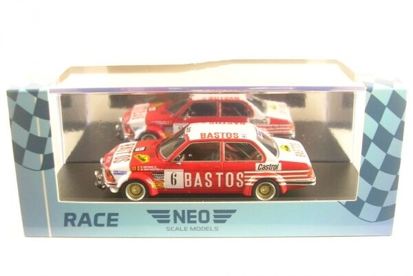 BMW 323i (e21)  taille 2 Bastos No. 6 Rally Condroz 1982 (P. Snijers-G. Van Oosten)  produit de qualité
