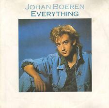 "JOHAN BOEREN - Everything (1987 VINYL SINGLE 7"" VADER ABRAHAM PRODUCTIE)"