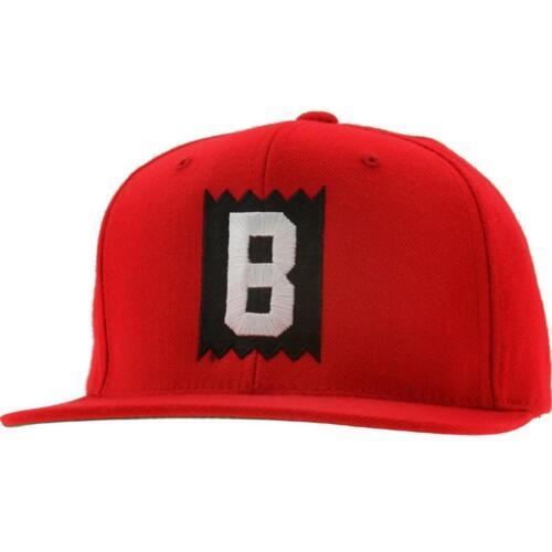 BAIT B Box Logo Snapback Cap black // black