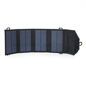 Portátil Foladable Solar Batería Externa para Teléfono Móvil Fast Cargador...