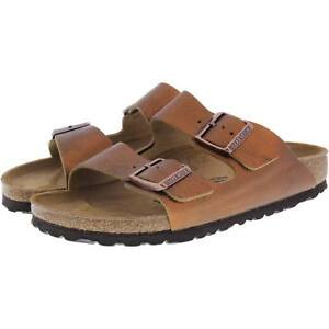 d0f26a463a Image is loading Birkenstock-Arizona-Leather-Washed-Metallic-Antique-Copper