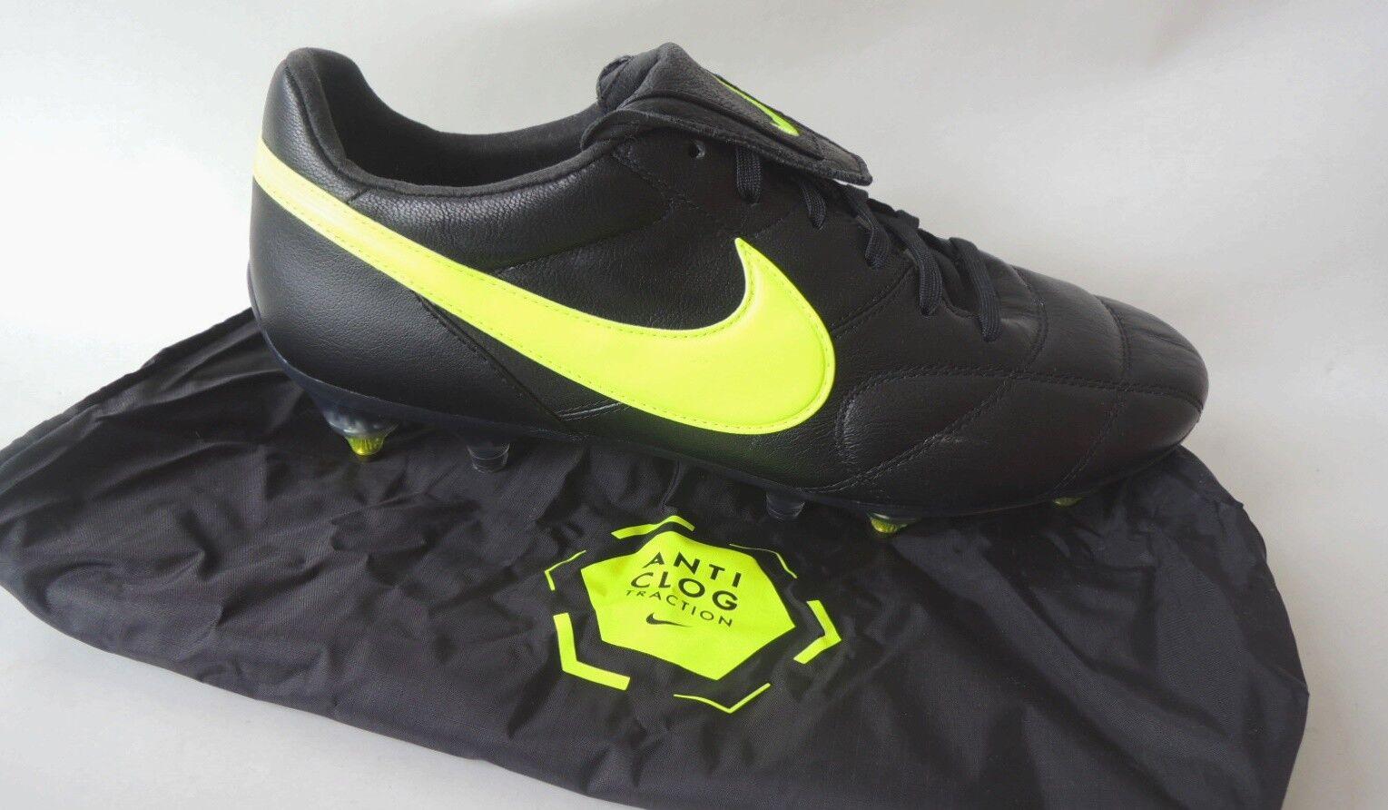 NEU Premier II SG Pro AC Anti Clog Größe 43 Leder Fußballschuhe 921397-001