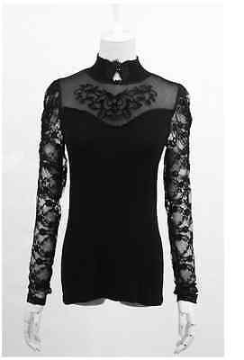 New Punk Rave Rock Goth Top Blouse T-shirt T-310 ALL STOCK IN AUSTRALIA FastShip