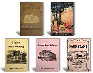 Ultimate barn plans farm building design cattle poultry for The new ultimate book of home plans pdf