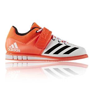Caricamento dell'immagine in corso Adidas-Powerlift-3-Uomo-Arancione -Sollevamento-Pesi-Scarpe-