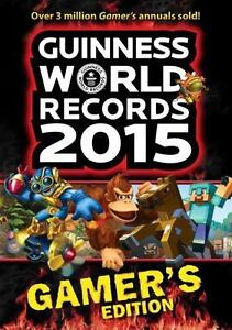 NEW-Guinness-World-Records-2015-Gamer-039-s-Edition