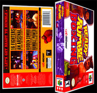 Ready To Rumble Boxing - N64 Reproduction Art Case/box No Game.