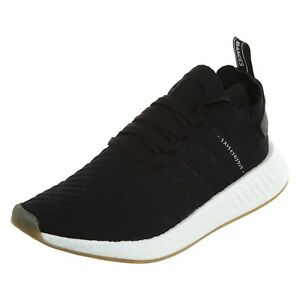 Adidas NMD_R2 PK Core Black Primeknit Running Athletic BY9696 (428) Men's Shoes