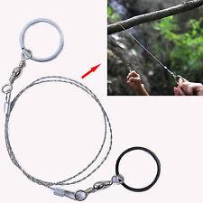 70cm acier poche chaîne fil scie à tronçonner chantourner câble pour exploration