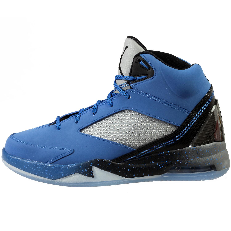 Nike Air Jordan Flight Remix Mens 679680-403 Sport Blue Hybrid Shoes Size 9