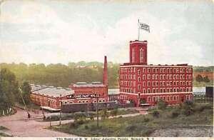 newark new jersey asbestos paints factory antique postcard. Black Bedroom Furniture Sets. Home Design Ideas