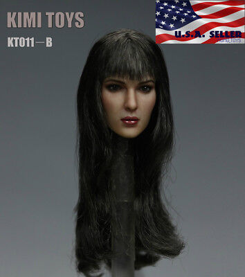 KIMI TOYS KT011C Female Head Sculpt 1//6  For PHICEN TBLeague Figure  in Stock