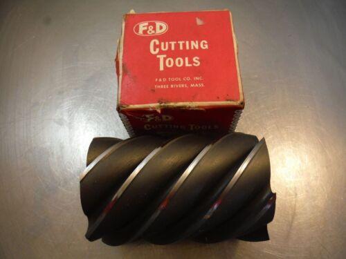 "F/&D 4/"" Milling Cutter 1.5/"" Arbor 6/"" High A 316 LOC1427A"