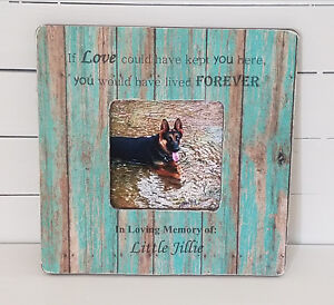 Details About Pet Frames Dog Frames Pet Memorials Dog Memorials Pet Gifts