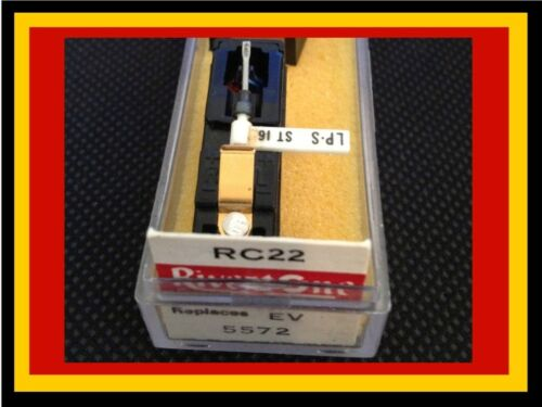 New Electro-Voice 5572 Cartridge with Needle//Stylus EV Astatic 417 Arista 1668
