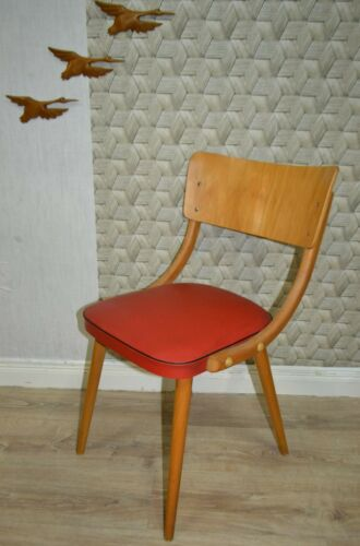 50er Chair Design Classic Kitchen Chair Red Rockabilly cocktail chair 1 of 3