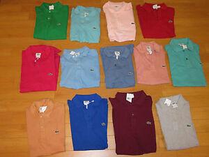 NWT-Men-039-s-Lacoste-Slim-Fit-Polo-Shirts-Retail-90