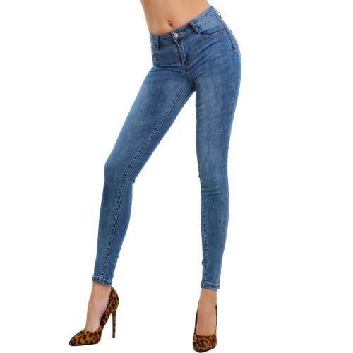 Pantalon Slim Sexy Femme Élastique Pour Skinny L7522 up Push Jeans Moulant RUdwIqR