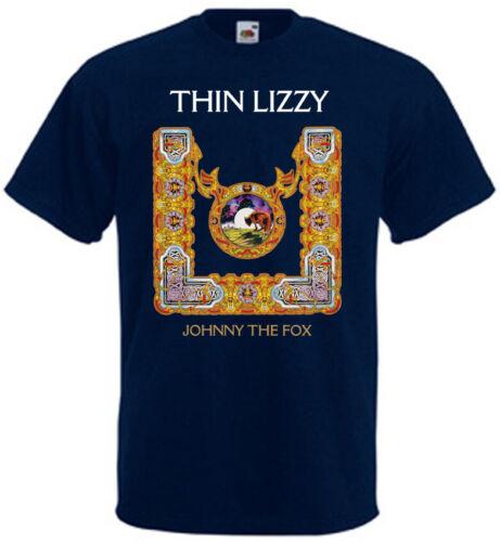 Thin Lizzy-Johnny the Fox v12 T-shirt Hard Rock Toutes Couleurs Toutes Tailles S-5XL