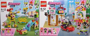 LEGO-PowerPuff-Girls-41288-Angriff-von-Mojo-41287-Bubbles-Spielplatzabenteuer