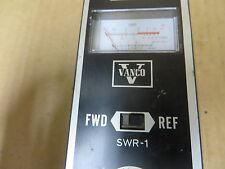 Vanco SWR-1  METER - VINTAGE ELECTRONIC TEST EQUIPMENT