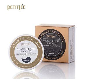 Petitfee-Black-Pearl-amp-Gold-Hydrogel-Eye-Patch-60-sheet-Korea-Cosmetic