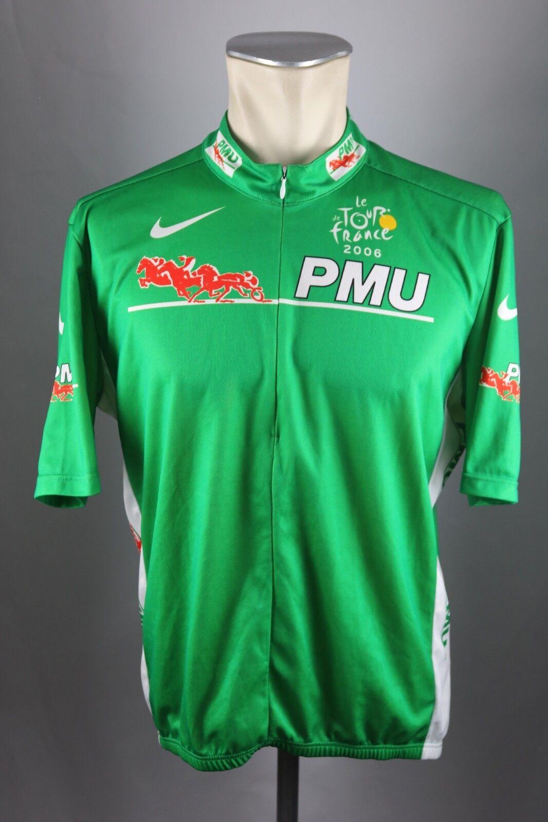 Tour de France 2006 Nike Trikot vintage Gr. XL BW 58cm cycling jersey J19