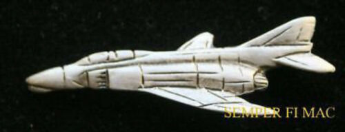 F-4B PHANTOM II PEWTER LAPEL HAT PIN MCAS AIR WING MAW MADE IN US MARINE CORPS