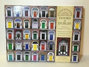 Image is loading DUBLIN-Traditional-GEORGIAN-DOORS-Set-of-4-Irish- & DUBLIN Traditional GEORGIAN DOORS Set of 4 Irish Placemats Ireland ...