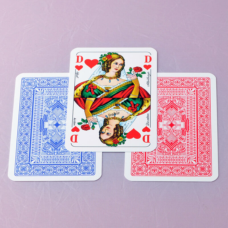 5 plastica Romme BRIDGE CANASTA CANASTA CANASTA CARTE Giochi Francese Immagine, Giochi Frobis f0bfeb
