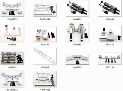 Aluminum Upgrade Parts À faire soi-même Fit pour HuanQi 1//16 Buggy 731 732 733 734 Voiture Argent