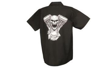 Bekleidung Schwarz 052 Hell In Farbe DemüTigen Lethal Threat Shirt Evil Twin Automobilia