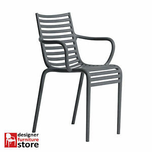 Replica-Philippe-Starck-Pip-E-Armchair-Dark-Grey