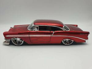 1956 Chevrolet Bel Air Jada Toys1 18 Dub City Oldskool Ebay