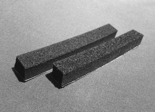 GUITAR//BASS PICKUP HEIGHT ADJUSTMENT FOAM//SPONGES X 2 H 8mm X W 10mm X L 70mm