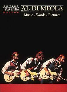 Al Di Meola Musique Paroles Photos-transcrit Neuf 000604043-afficher Le Titre D'origine à Vendre