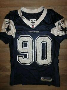 Dallas-Cowboys-90-NFL-Game-Used-Worn-2010-Reebok-Football-Jersey-44