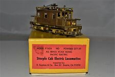 HO Brass Pacific Electric 'Steeple Cab' Suydam/Orion 1970  XLNT