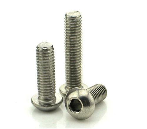 6# 8#-32 304 Stainless Steel Hexagon Socket Button Head Bolt Screw