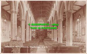 R500341 Woodbridge. Interior St. Mary Church. RP. 1933