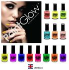 Genuino Paintglow UV Esmalte Uñas Neón Fluorescente Reactivas a brillo pintura