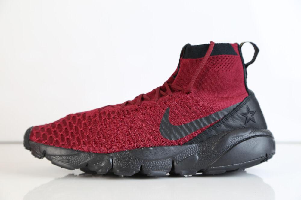 Nike Air Footscape Magista FK FC Team Red Noir 830600-600 8-12 free 1 Chaussures de sport pour hommes et femmes