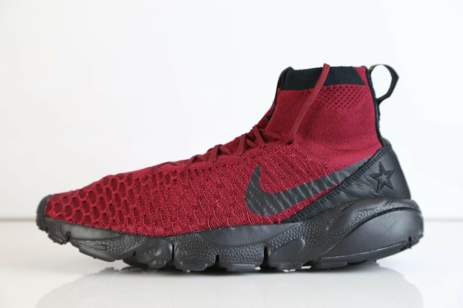 Nike Air Footscape Magista FK FC Team Red Black 830600-600 8-12 free 1