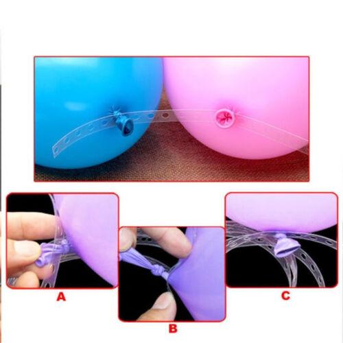 Plastic 16.5 FT Balloon Decor Strip Connect Chain Balloon Arch Strip Tape Supply