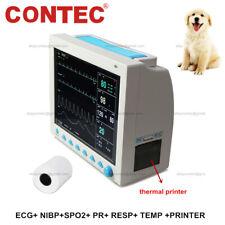 Contec Veterinary Patient Monitor Vital Signs Icu Multiparameter Machine Printer