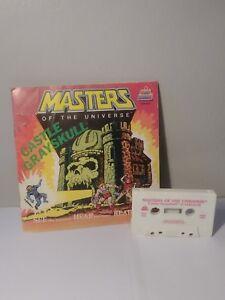 Kid-Stuff-Masters-Of-The-Universe-Castle-Grayskull-Book-amp-Cassette-Tape-1983-B