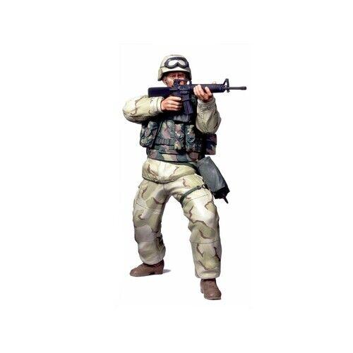 Tamiya 36308 Modern US Infantry Man (Desert Uniform) 1:16 Scale Model World Figu